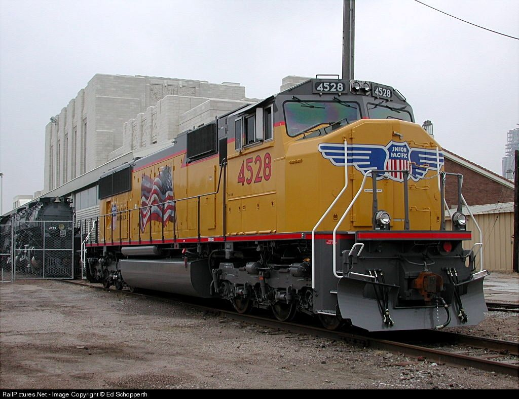 RailPictures Net Photo: UP4528 Union Pacific EMD SD70M at