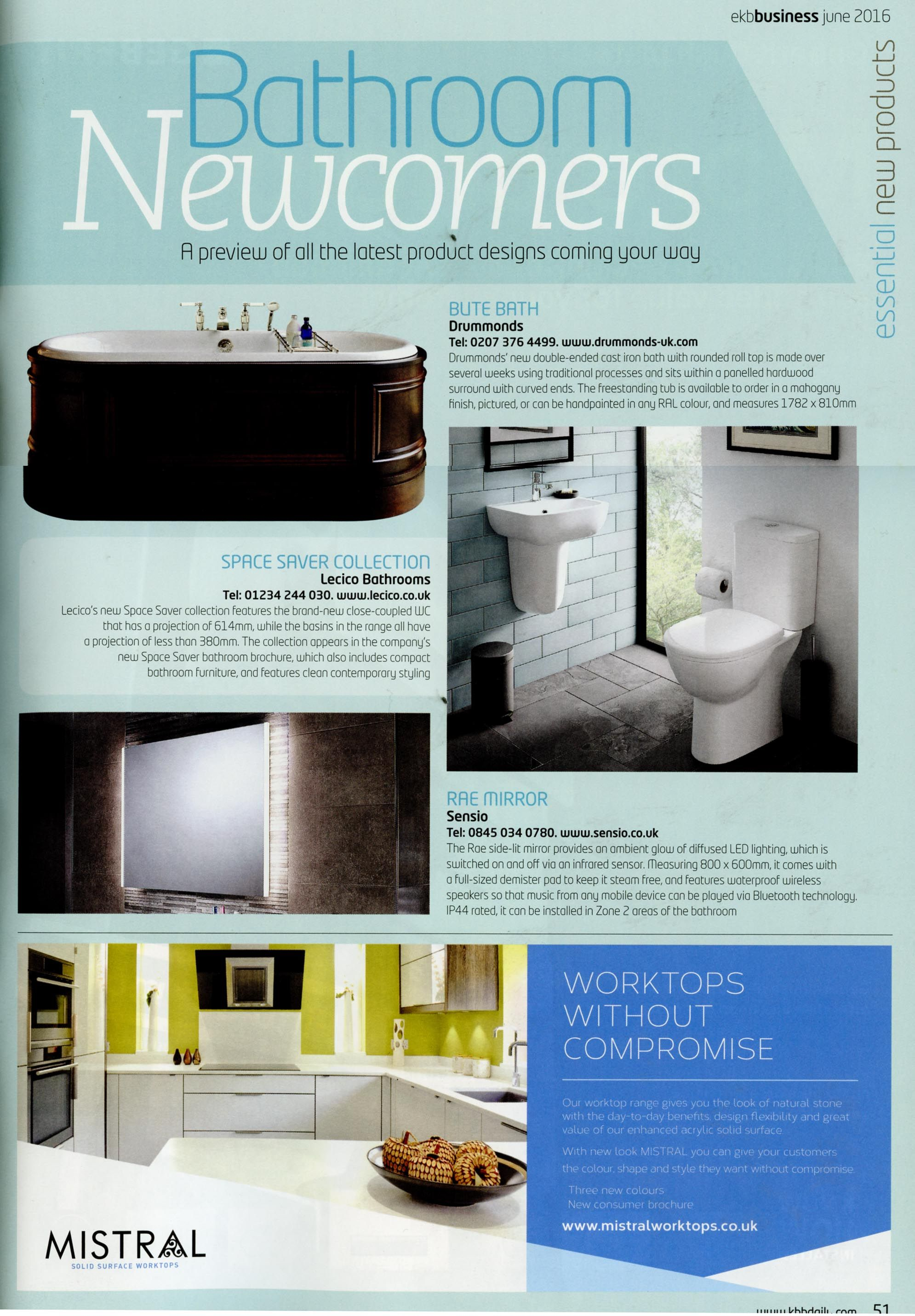 The new double-ended cast iron Bute Bath. http://www.drummonds-uk ...