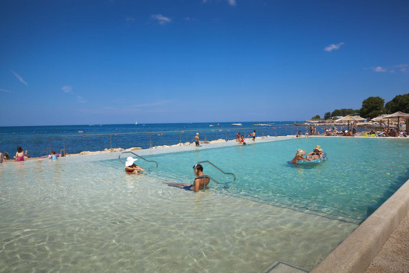 Sea pool at Camping Park Mareda Mareda Novigrad Istria