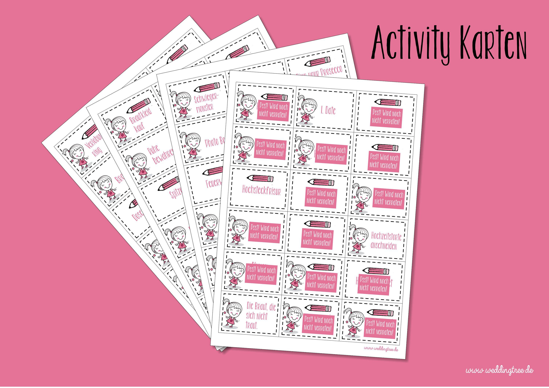 Activity Karten Pdf