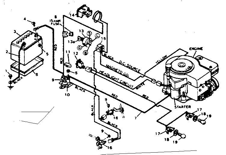 briggs and stratton 11 hp wiring diagram   40 wiring