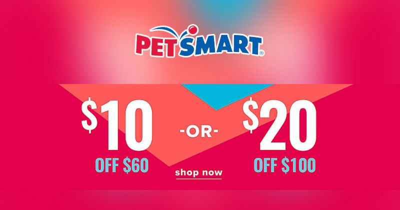 Get 10 Off 60 Or 20 Off 100 At Petsmart Petscare Petslover Dog Cat Supplements Discount Codes Coupon Petsmart Coupon Codes