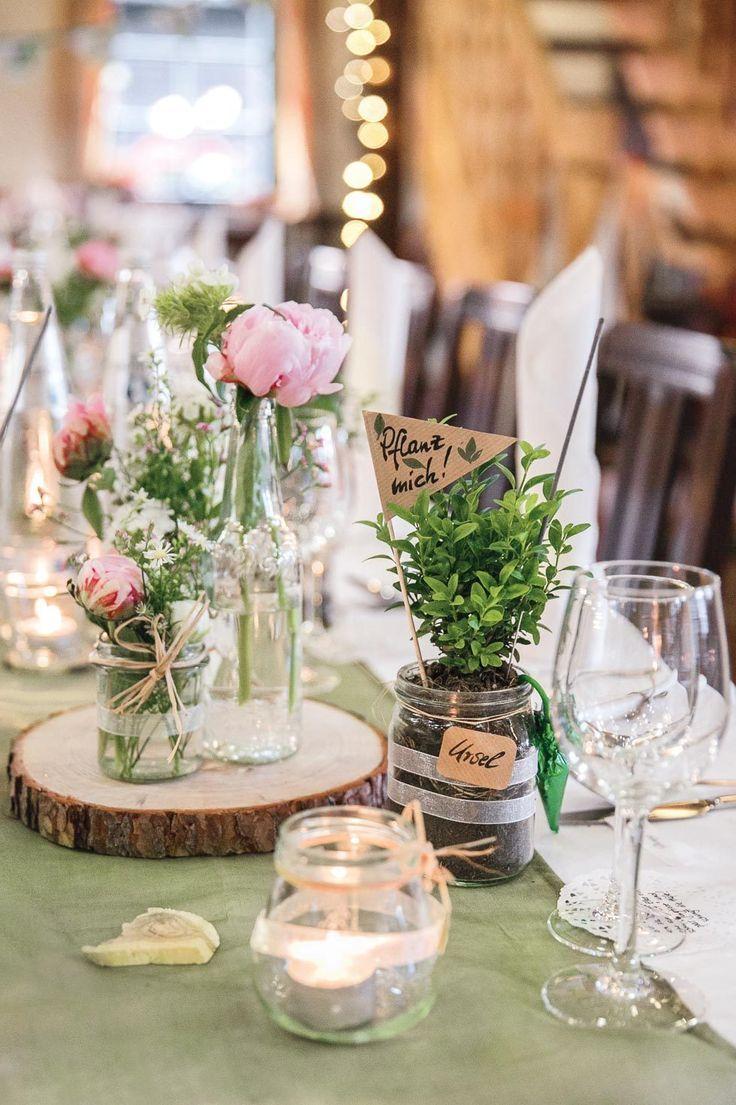 Tischdekoration für die Hochzeit – über 250 Inspirationen