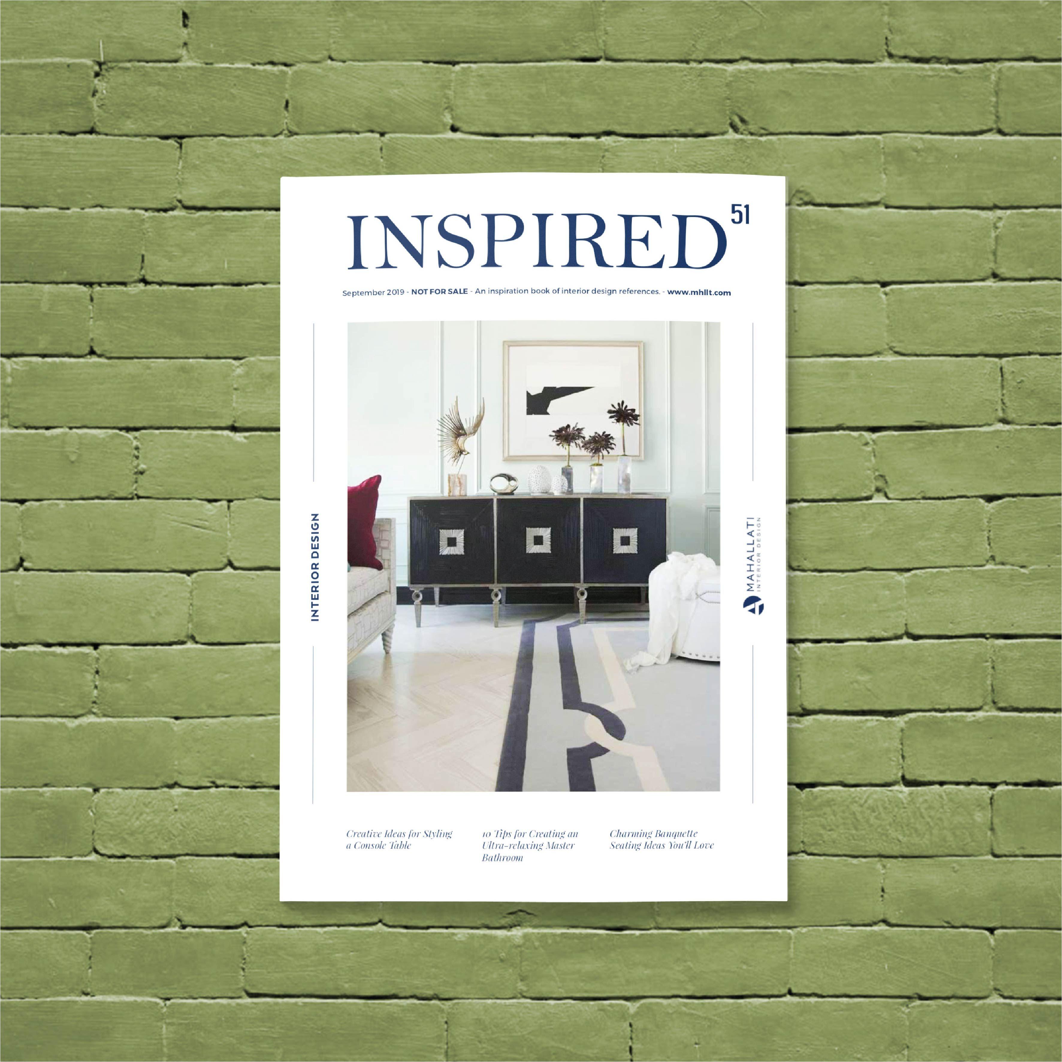 Inspired Magazine Vol 51 September 2019 Free Download Inspiration Design Reference Design