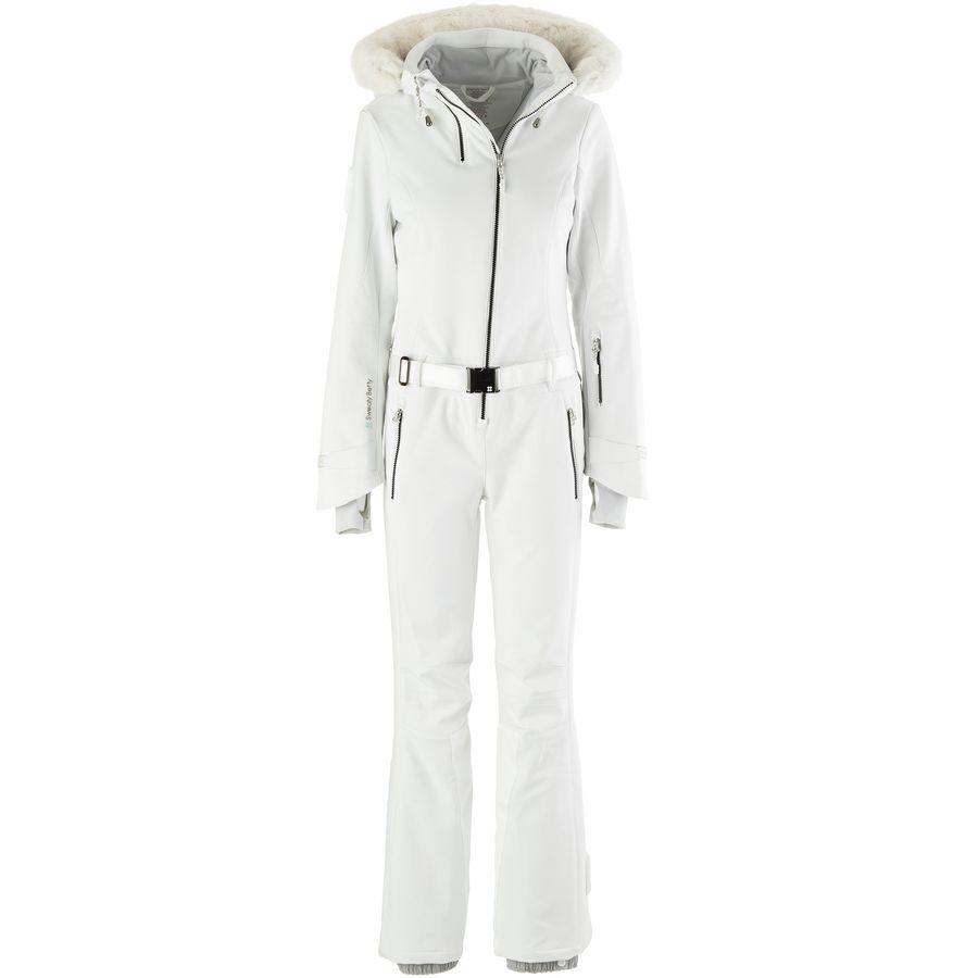 61cd1edf3dd Sweaty Betty - Backcountry Ski All in One Jacket - Women s - White Black