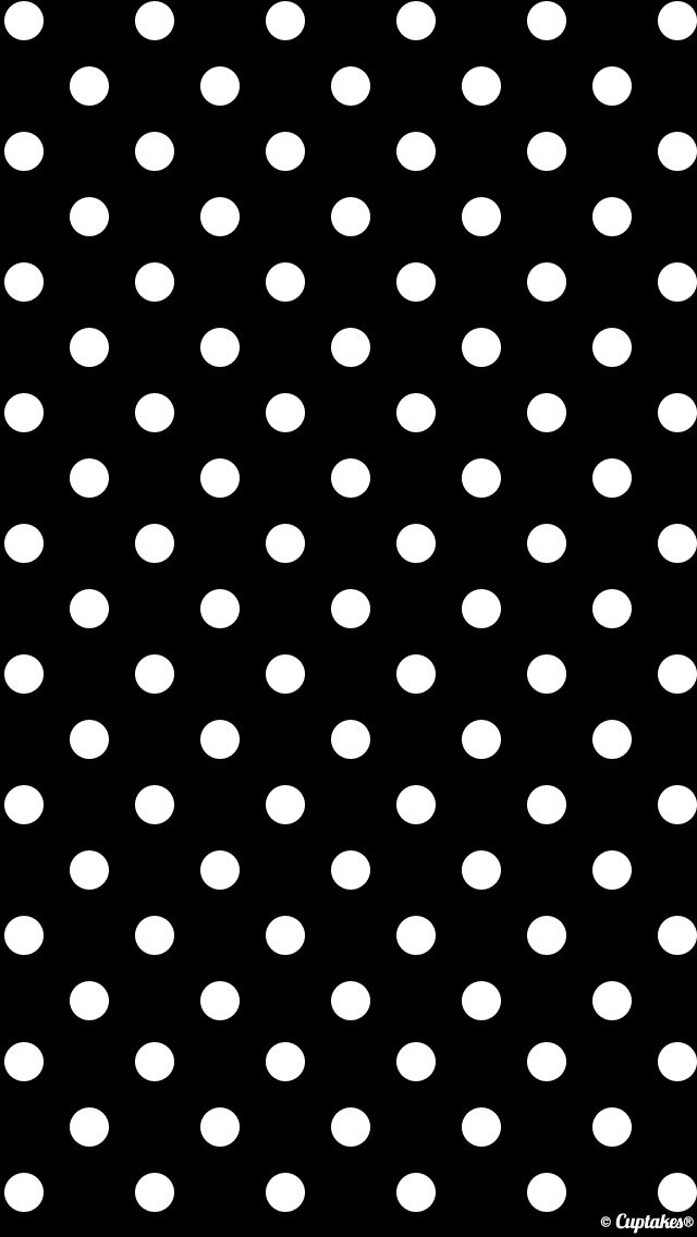 Pin By T E R R I On Prints Paint Polka Dots Wallpaper Iphone Wallpaper Vintage Black Wallpaper