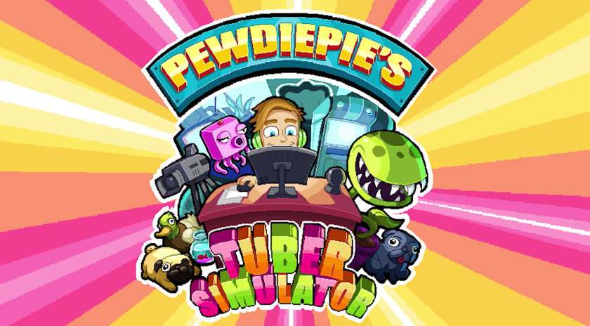 """PewDiePie's's new game """"Tuber Simulator"""" hits the top of"""