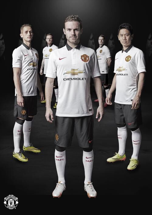 Manchester United 2014 2015 Away Kit  0868819ca