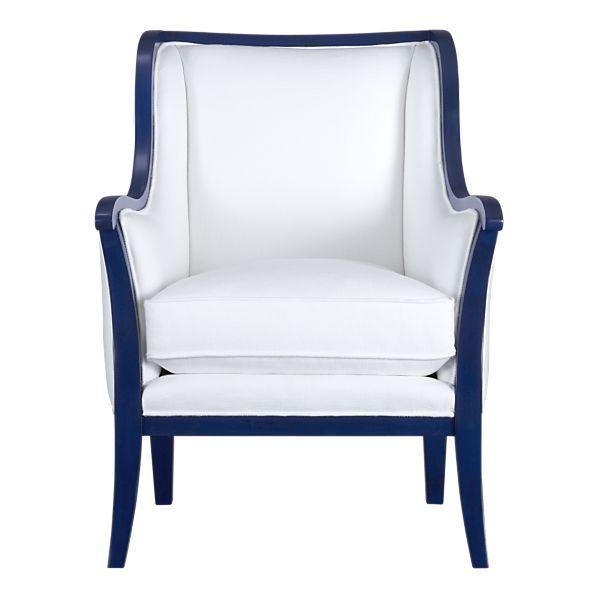 Best This Would Sooooo Work Cobalt Blue Frame White Dinning 640 x 480