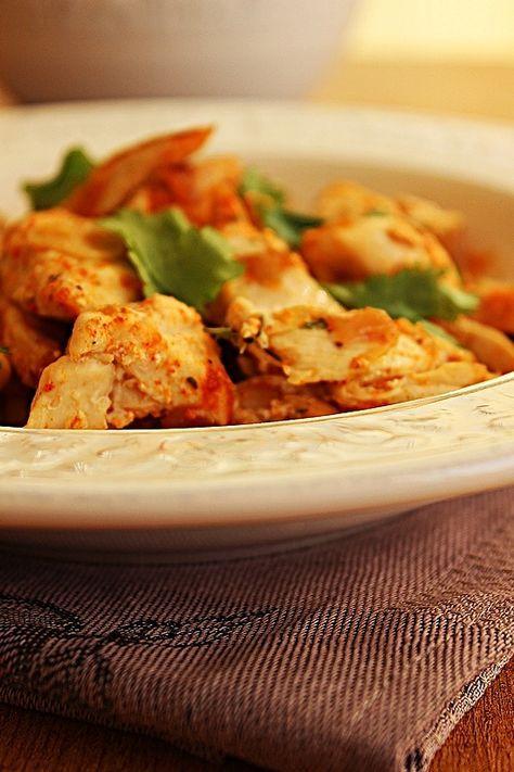 Cozinhadaduxa: Bifes de Frango com Alho e Limão