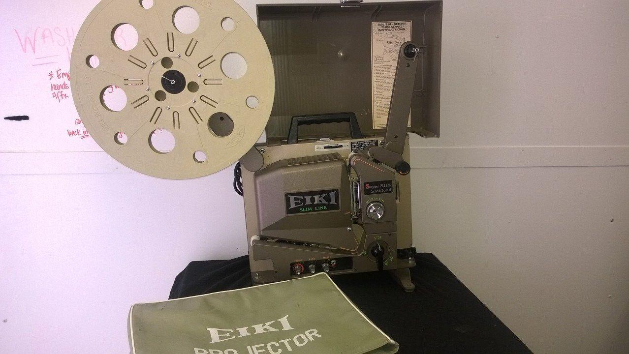 Eiki SL-0 Vintage Super Slot Load II 16mm Film Sound