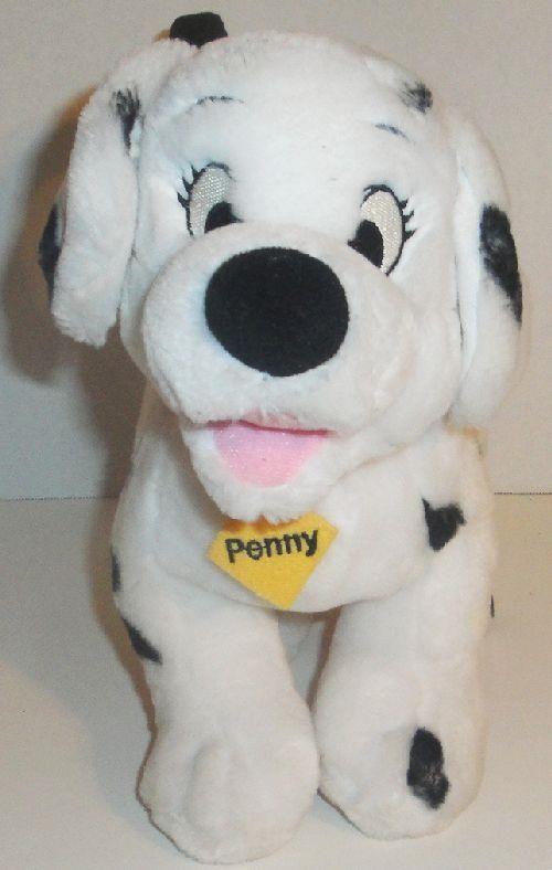 "DISNEY STORE 101 DALMATIANS PENNY PUPPY DOG 11"" PLUSH"