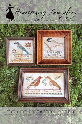 Bird Collection, The -- Part III - Cross Stitch Pattern