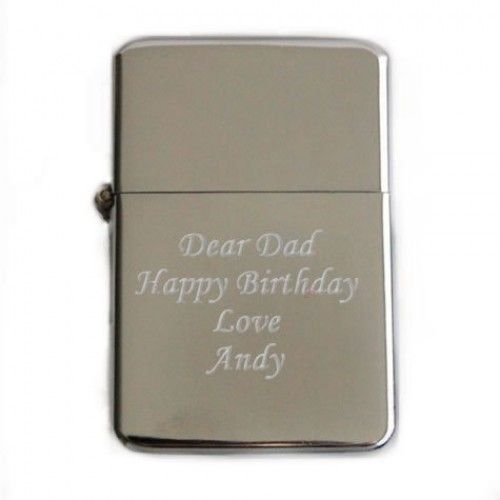 Personalised Initials Engraved Lighter Wedding Favour Thank You Gifts Present