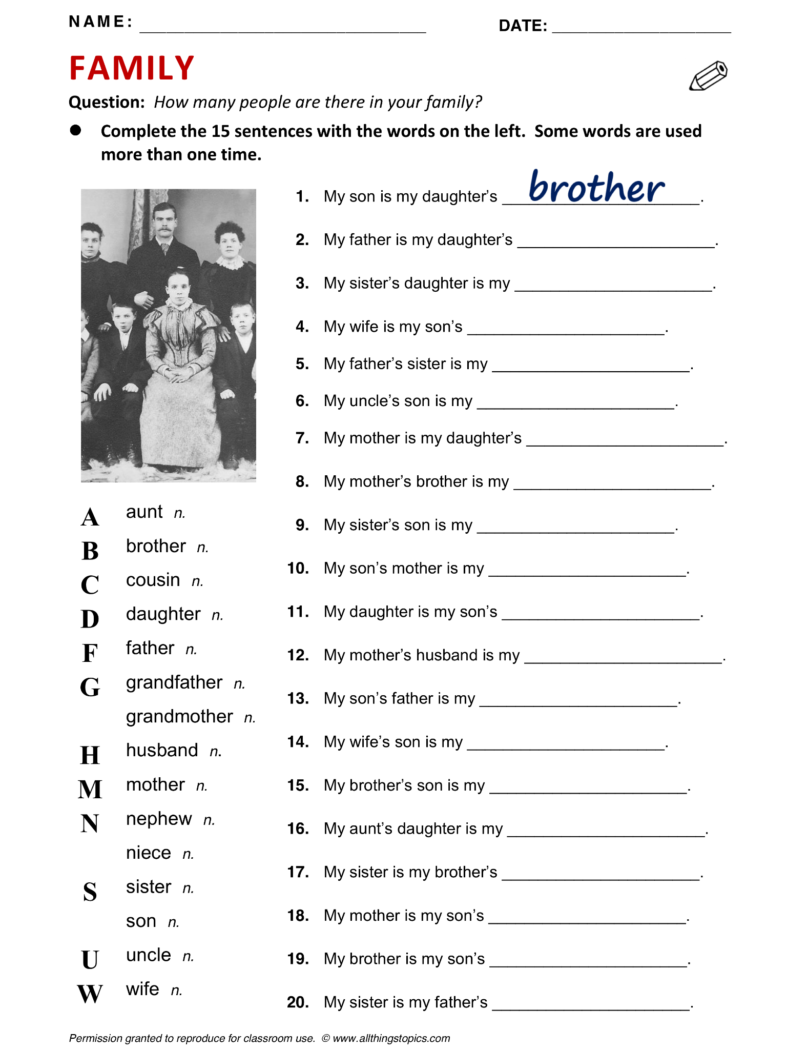Definite And Indefinite Article Worksheet