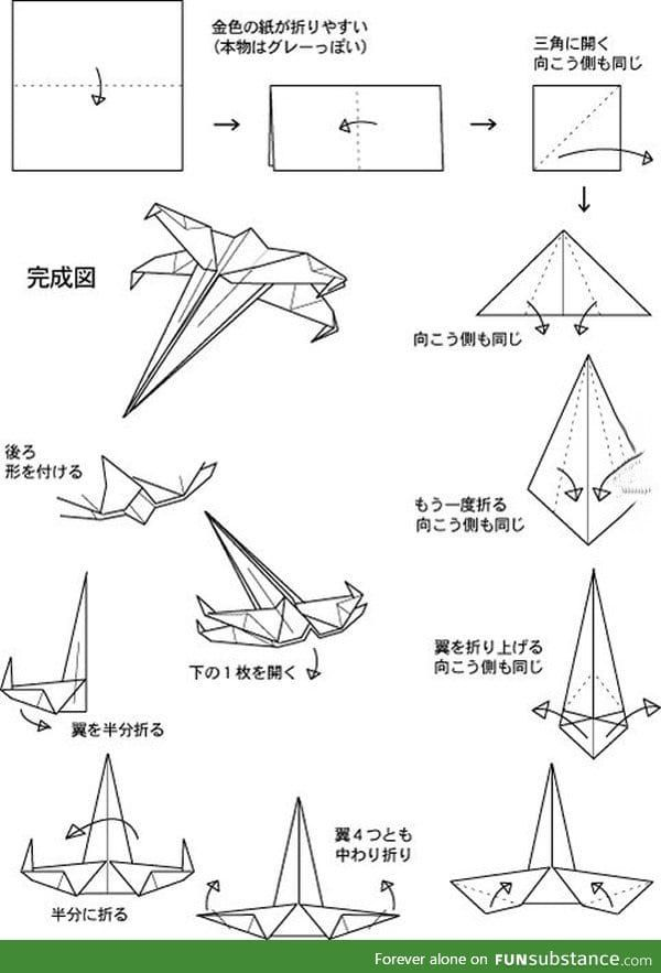 How To Make A Paper X Wing