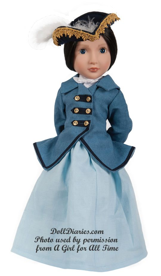 Meet The Next A Girl For All Time  Lydia  Period Doll -7737