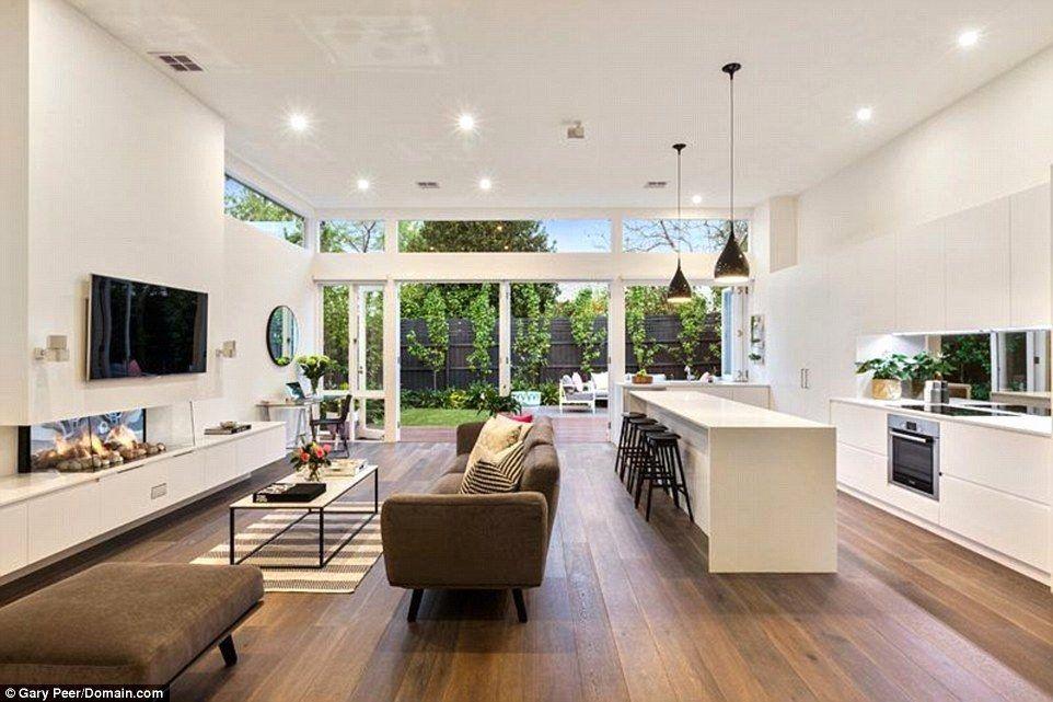 Open Plan Living Idea Kitchen Living Room Elegant Inside Sam Wood And Snezana In 2020 Open Plan Kitchen Living Room Elegant Living Room Design Open Plan Kitchen Dining