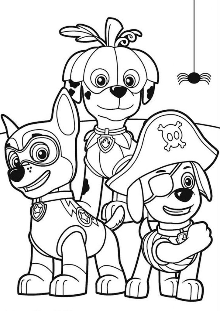 Psi Patrol Kolorowanki Do Wydrukowania Kolorowanki Darmowe