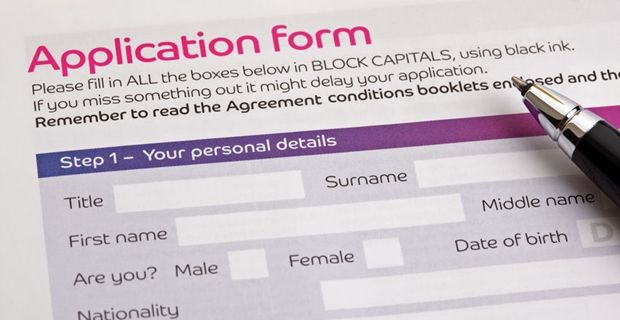 Completing the application form is the first step to