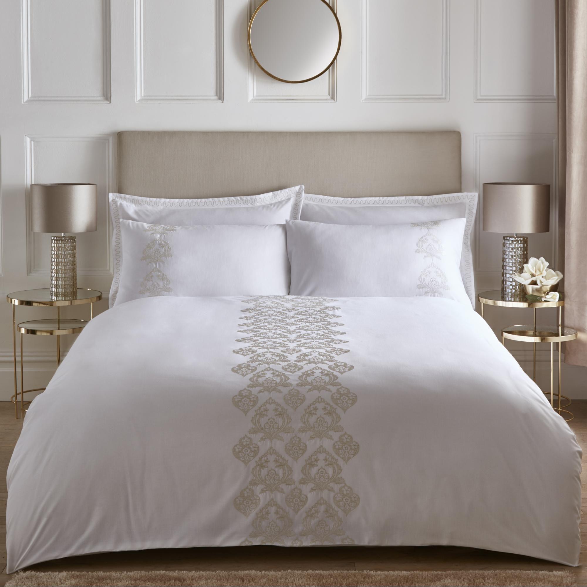 Luxury King size duvet natural white