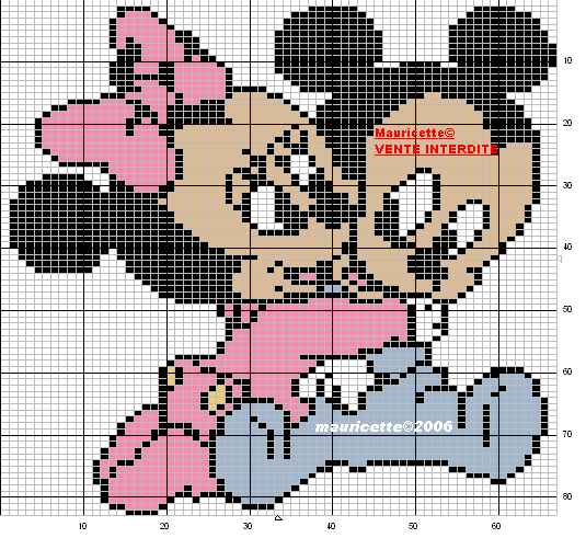 Baby Mickey & Minnie | baby | Pinterest | Bügelperlen, Babydecken ...