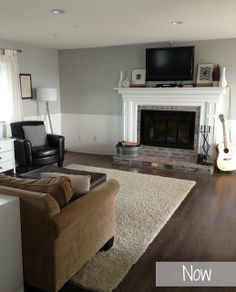 1970s split level and design ideas and fireplace and living ...