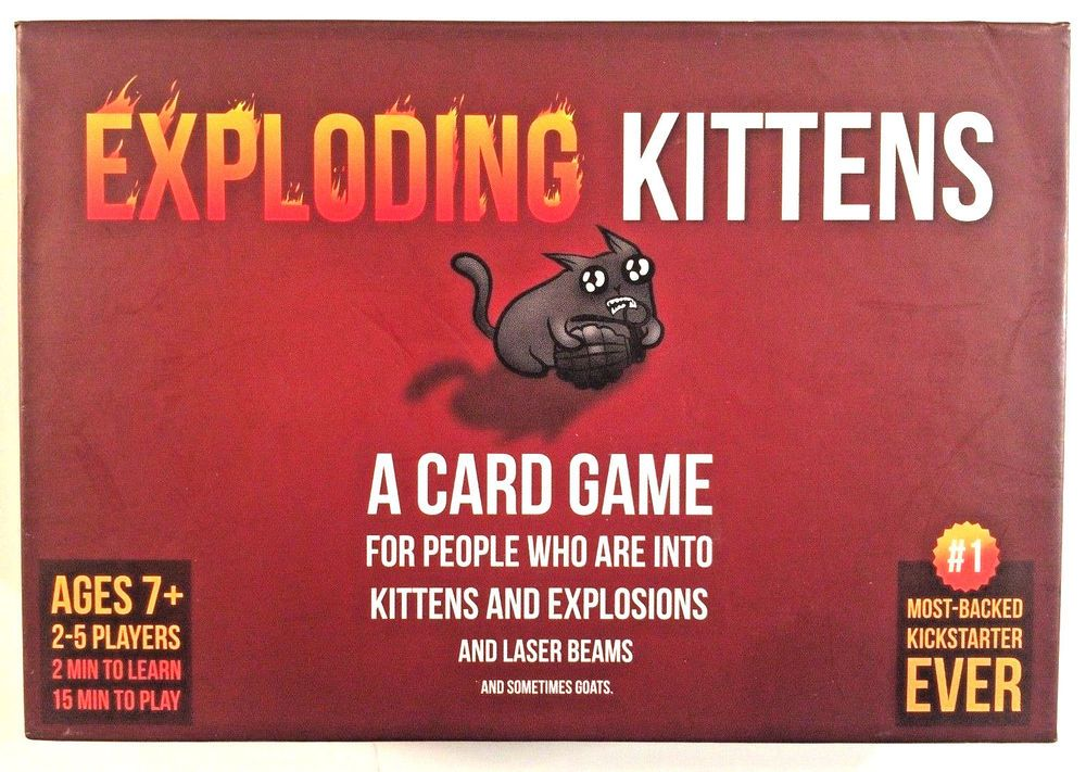 Exploding Kittens Original Great Party Game Perfect Birthday Gift