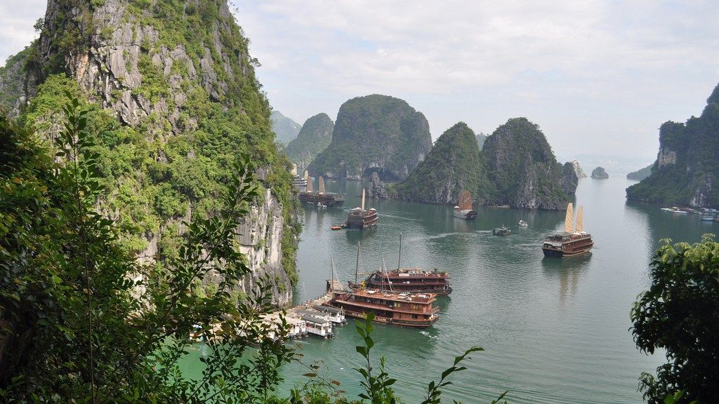 ベトナム、ハロン湾(flickr)