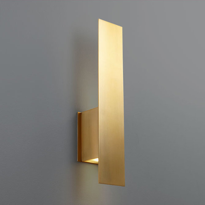 Modern Contemporary Wall Sconces Shades Of Light In 2020 Wall Sconce Lighting Sconce Light Fixtures Sconces