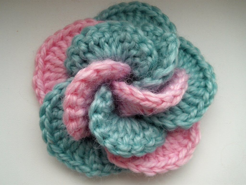 35. crochet flower free pattern beginner | Crochet - flowers ...