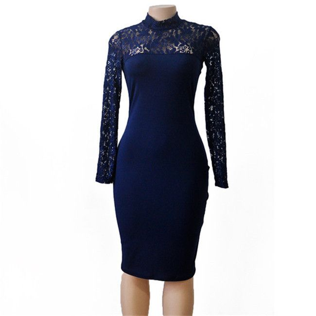 Women Lace Elegant Sexy Party Dress