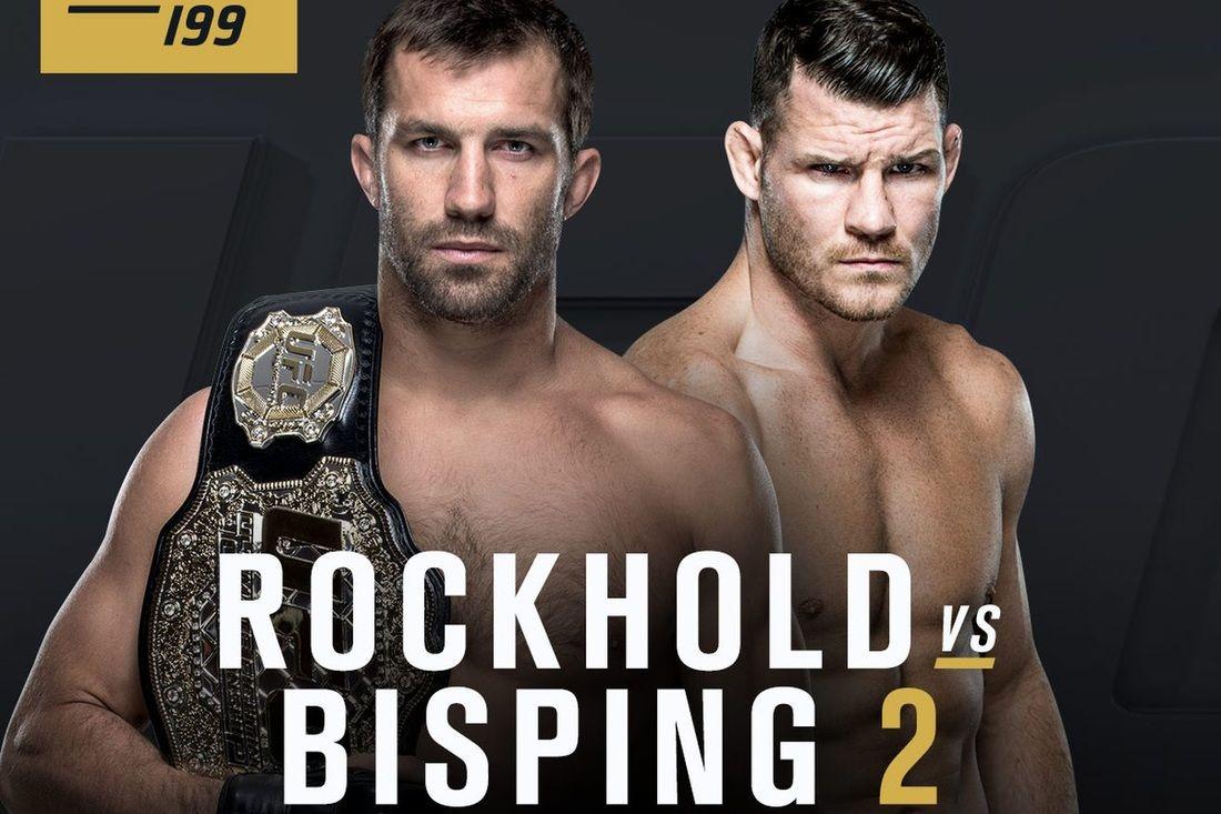 UFC 199 LIVE stream Ufc, Luke rockhold, Michael bisping