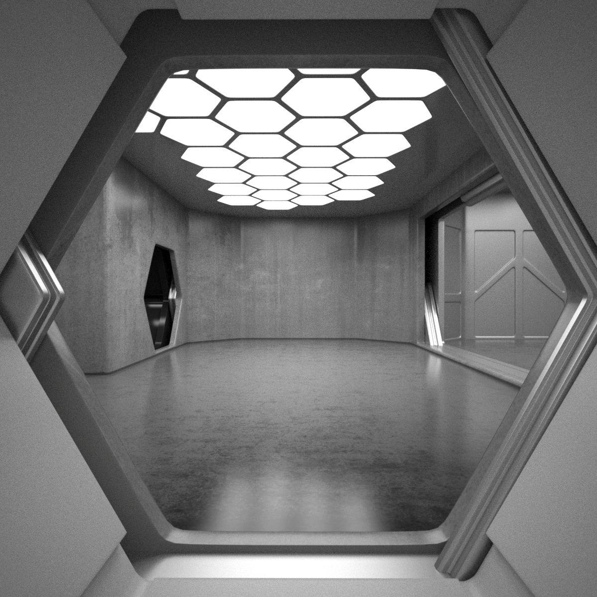 Futuristic Home Decor: Sci Fi Interior 3D Model In 2019