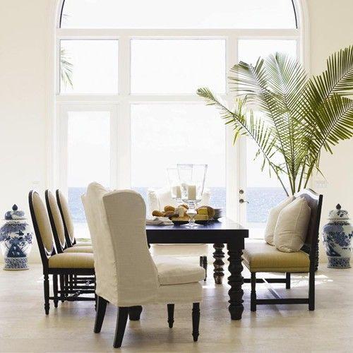 Postobello Home   Dark Walnut Capresi Cane Bench By Drexel Heritage®   Baers  Furniture  . Dining BenchDining Room TableKitchen ...