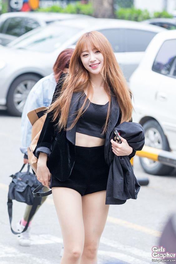 Kpop Body Inspiration Photo Hani Korean Women Kpop Girls