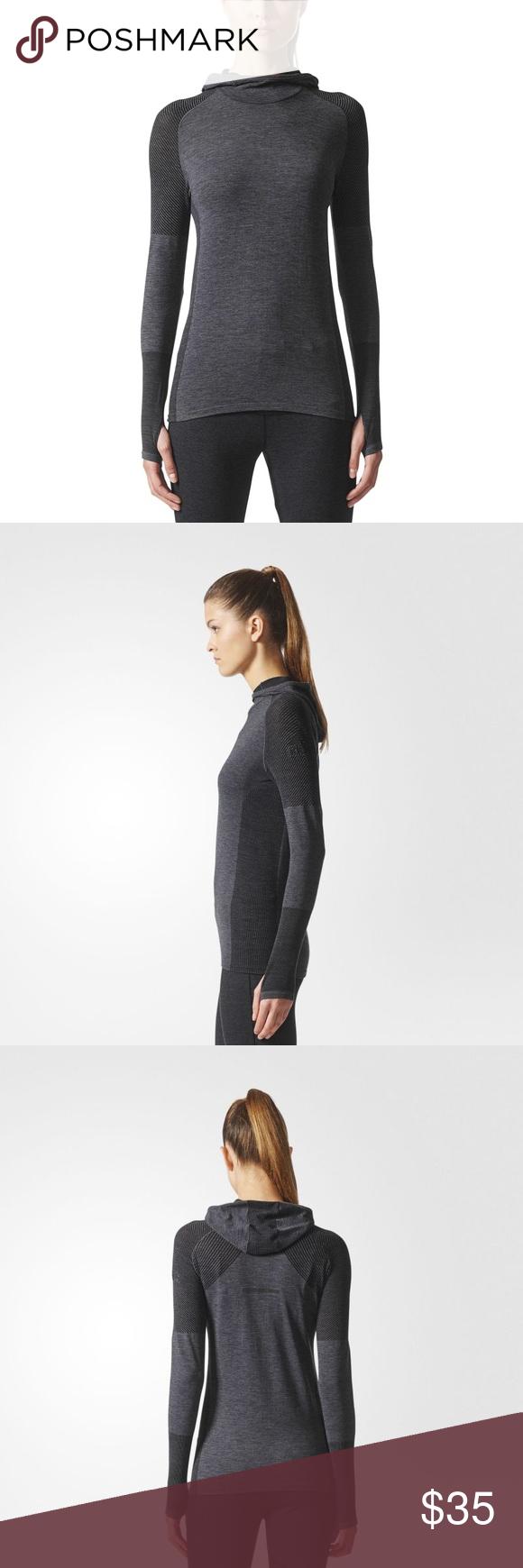 Women S Adidas Climaheat Long Sleeve Hoodie Adidas Women Long Sleeve Hoodie Clothes Design [ 1740 x 580 Pixel ]