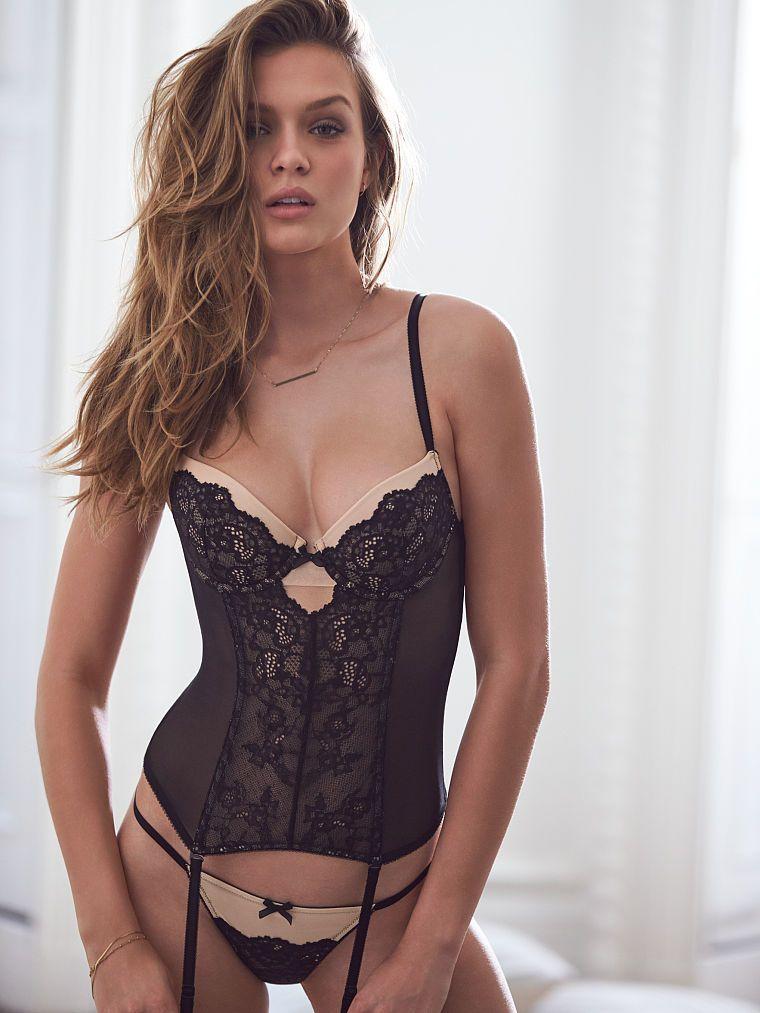 db59c3ea151 Josephine Skriver. Lace Bustier - Dream Angels - Victoria s Secret Victoria  Secrets Lingerie ...