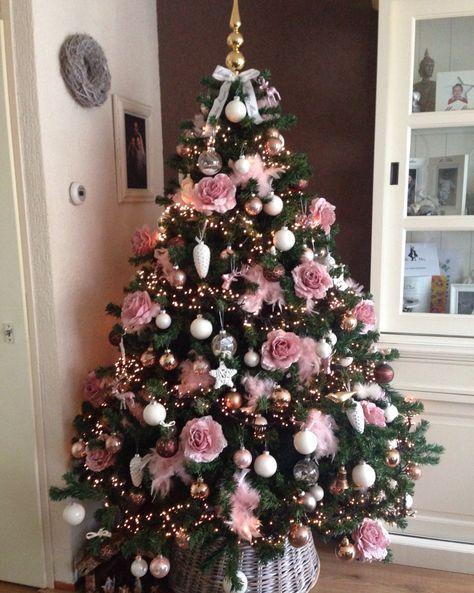51 New Ideas Christmas Tree Dcoration Pink Pink Christmas Tree Decorations Pink Christmas Decorations Elegant Christmas Trees