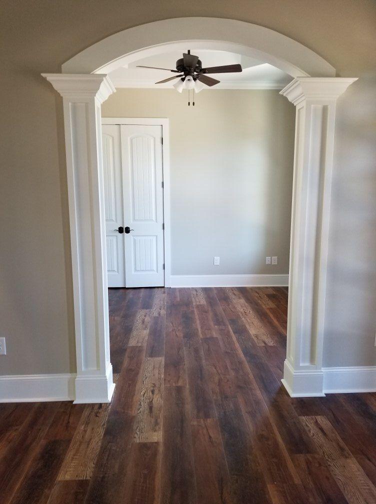 Cali Vinyl Wood Vinyl Flooring Hand Scraped RapidLock Sample - Durability of vinyl wood plank flooring