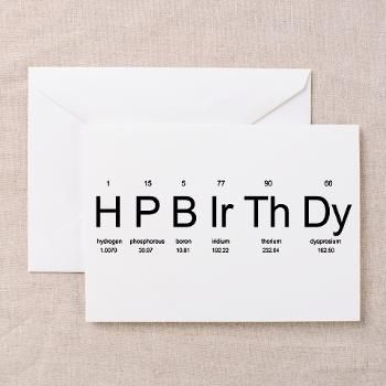 Periodic table birthday card gifts for a geek geek t shirts periodic table birthday card gifts for a geek geek t shirts bookmarktalkfo Images