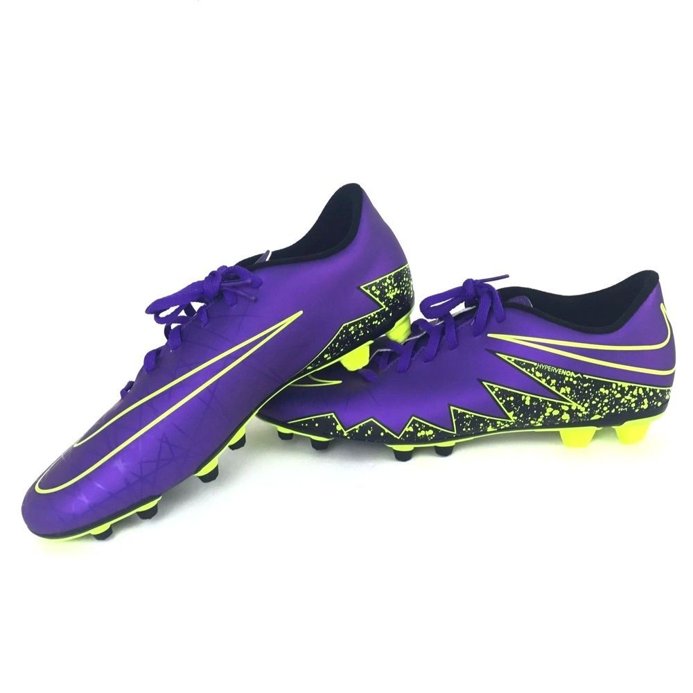 4035709b8935 Nike Hypervenom Phade II FG Soccer Cleats Mens Size 12 Purple 749889-550  New  Nike