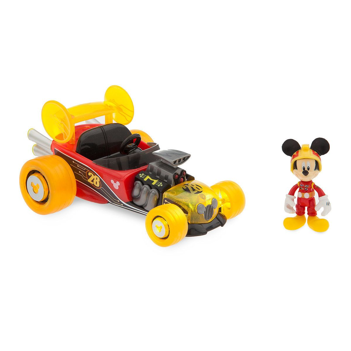 Mickey Mouse Light Up Racer Mickey And The Roadster Racers
