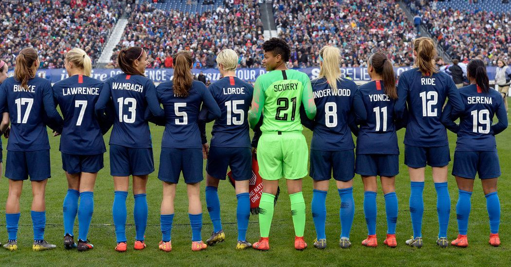 8 Times Women In Sports Fought For Equality Womens Soccer Female Soccer Players