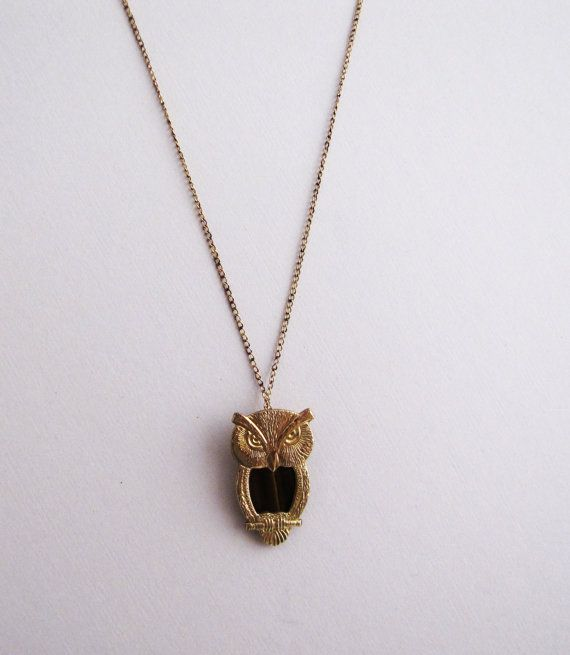 Reserved Listing Sale The 1960 S 12 Karat Gold Fill Owl Etsy Vintage Jewelry Gold Karat