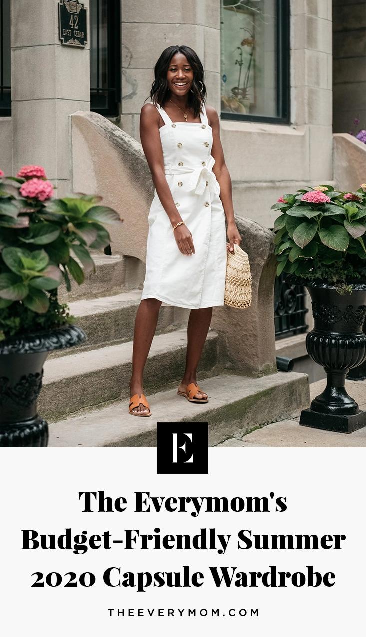 Budget-Friendly Summer 2020 Capsule Wardrobe | The Everymom | maternity capsule wardrobe spring summer