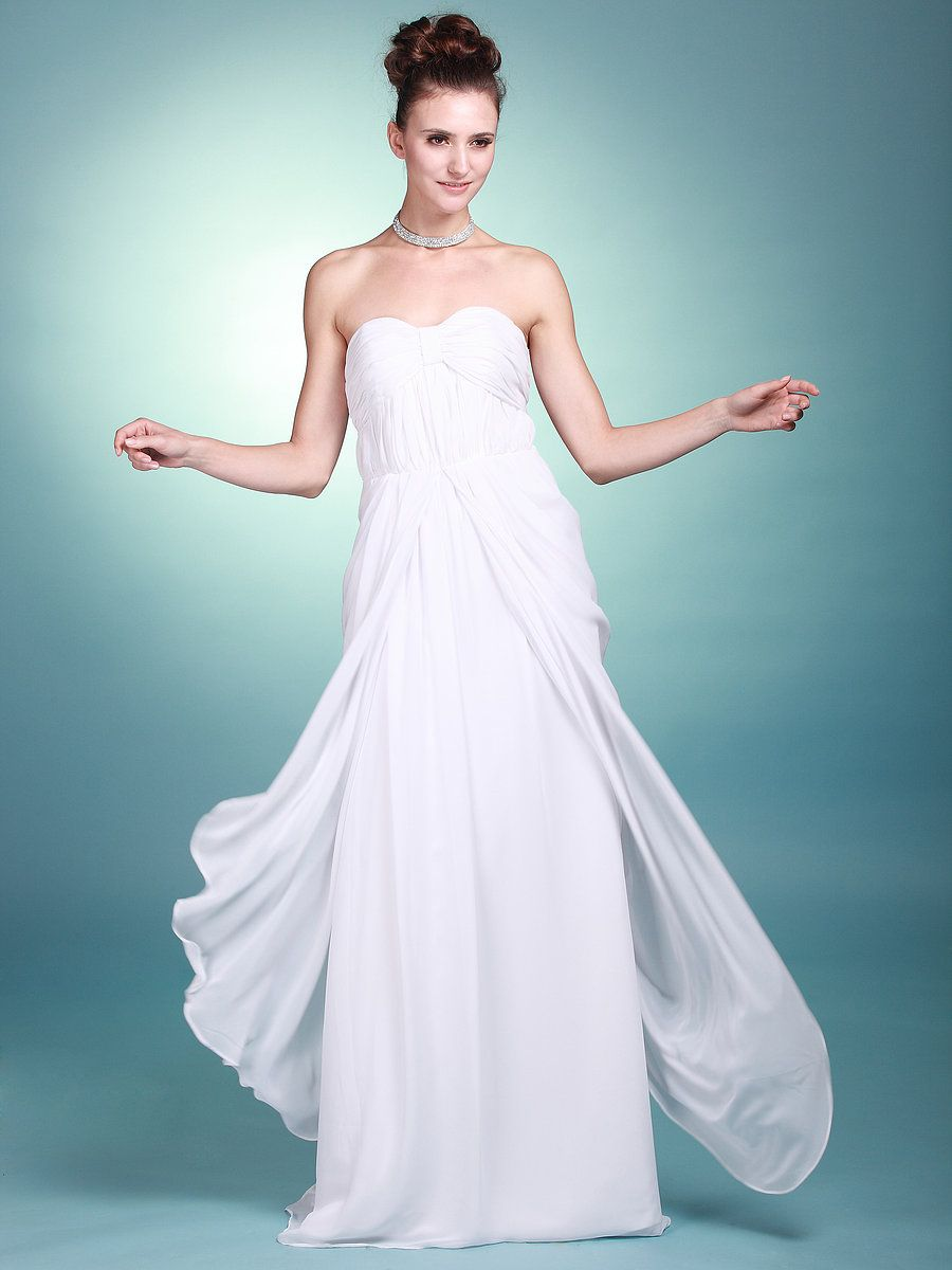 Sweetheart natural waist wedding gown with backless detail my