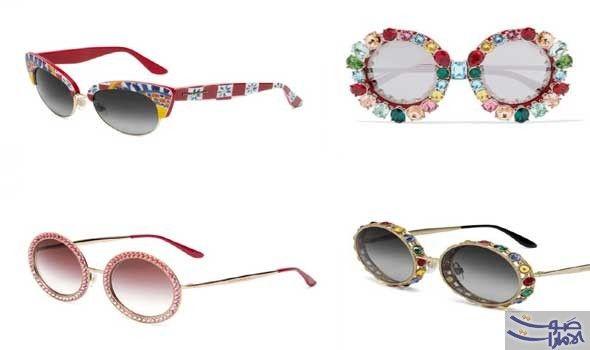 دولتشي آند غابانا تطرح نظارات شمس ربيع كشفت دار الأزياء الإيطالية دولتشي أند غابانا Dolce Gabbana عن مجوعة نظارات شم Round Sunglasses Sunglasses Glasses
