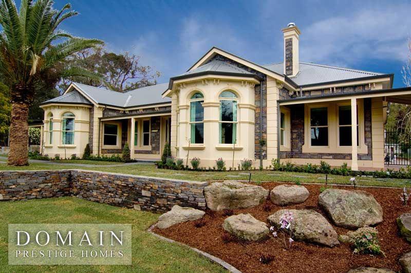 Domain Prestige Home Designs: Australian Period. Visit www.localbuilders.com.au/builders_victoria.htm to find your ideal home design in Victoria