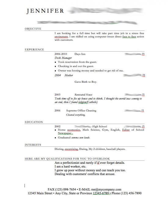 Completely Insane Resumes That May Actually Be Better Than Yours - how you do a resume